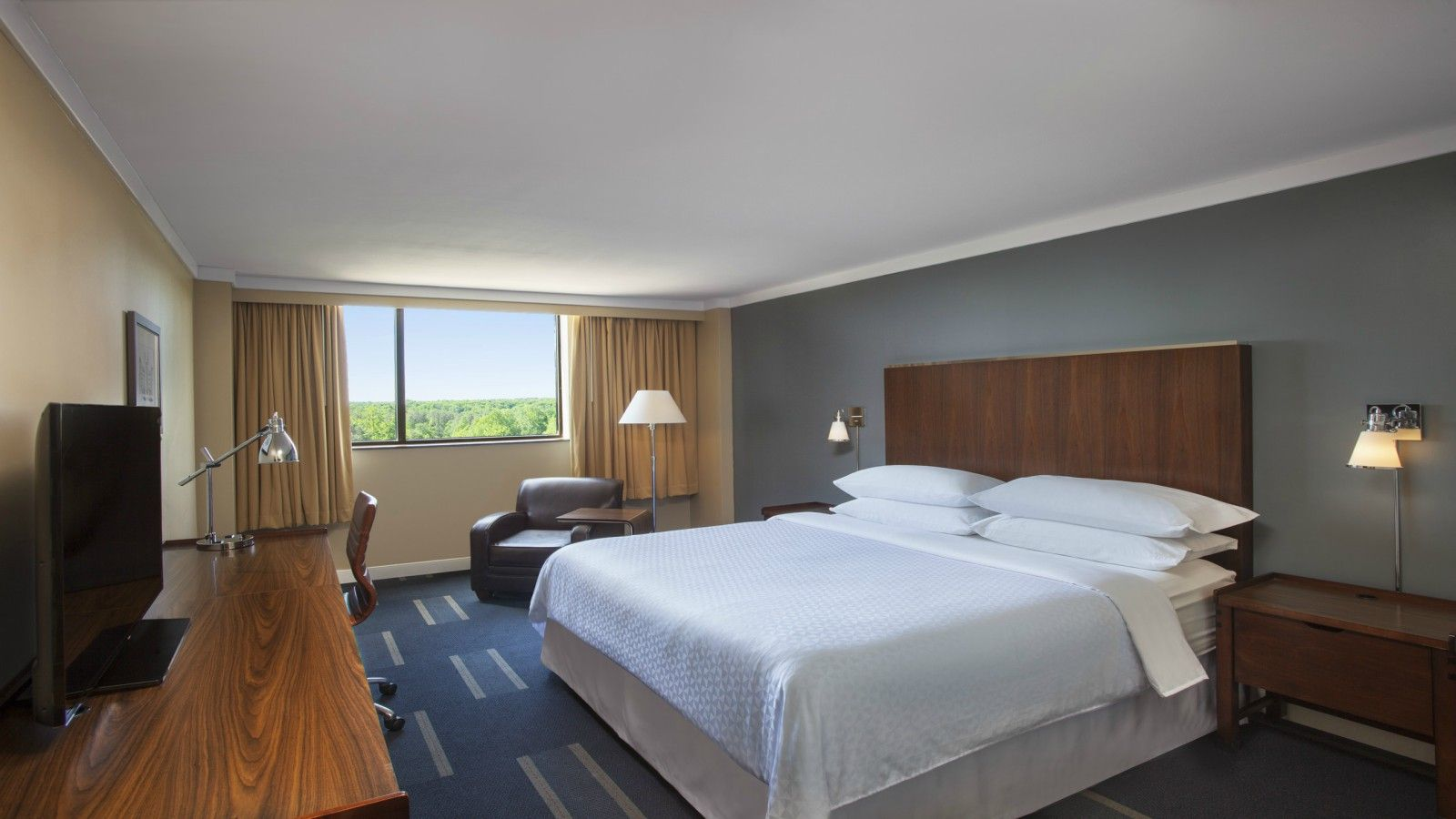 Richmond Accommodations - Lake View Room